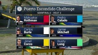 Puerto Escondido Challenge : Grant Baker, la victoire au bout du tube