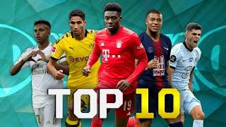 Top 10 Fastest Young Players in Football 2020 (U21)
