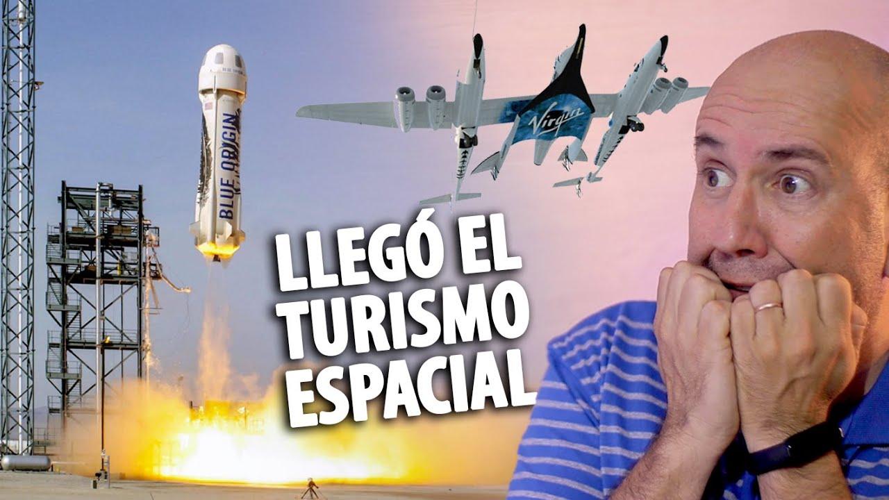 Turismo espacial   Virgin Galactic • Blue origin