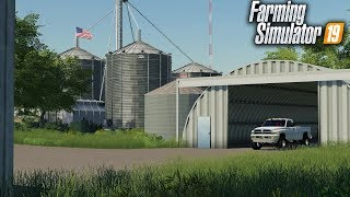 "FS19- WELCOME TO ""ROLLING HILLS""- THE FIRST AMERICAN MAP IN FARMING SIMULATOR 2019"