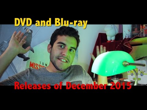 This Month In Movies Ep 14  December DVD Releases 2015