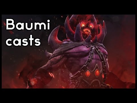 Baumi casts The Summit 5: Execration vs Signature.Dota2