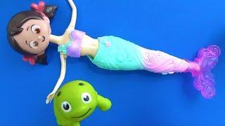 Niloya deniz kızı oluyor Tatlı Cadı ve Niloyanın hayalleri Heidi Maşa Tospik ile deniz kızı hikayesi