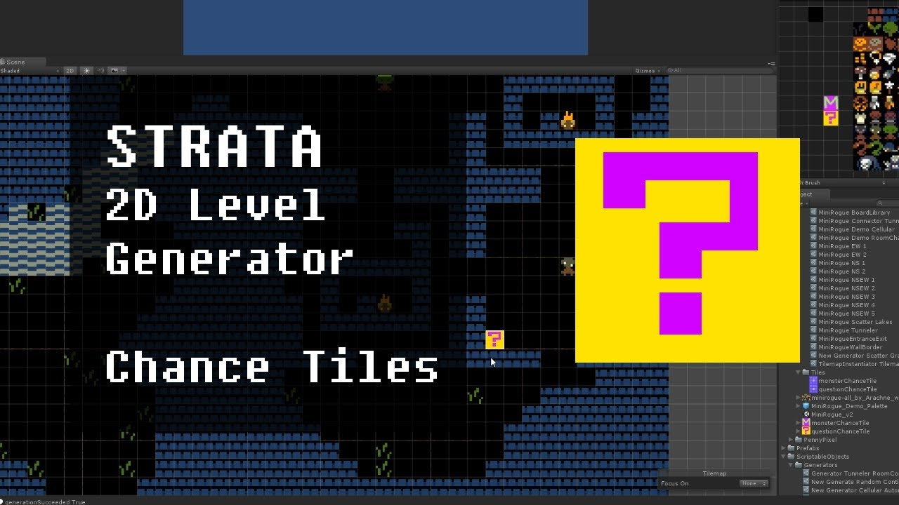 Assets - [Released] Strata: Easy 2D Level Generator With