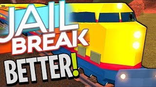 NEW TRAINS ADDED TO JAILBREAK!! *BETTER* (Roblox)
