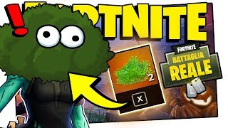 LE NOUVEAU BUSH LÉGENDAIRE! MISE À JOUR (Fortnite ITA Battle Royal Funny Moments)