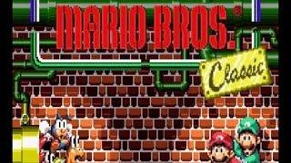 GBA版 マリオブラザーズ クラシックモード Mario Bros.