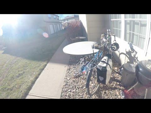 Boulder Bike Commute - North Boulder to University of Colorado Campus[4k]
