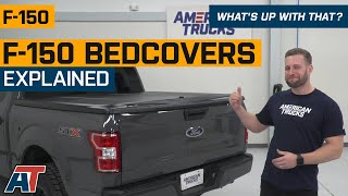 How to Choose F150 Bedcovers + Knife Test | Tonneau Covers Explained - What's Up With That?