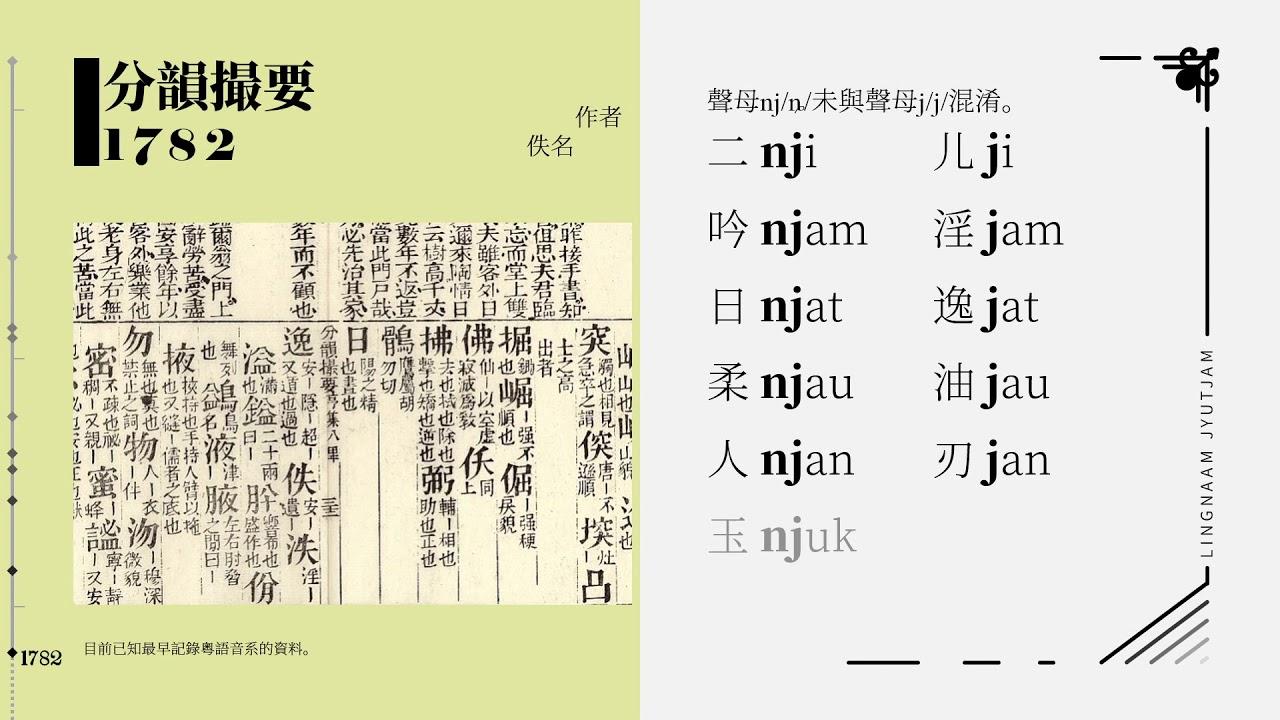 5分鐘話你知廣州粵語200餘年變遷史 - YouTube