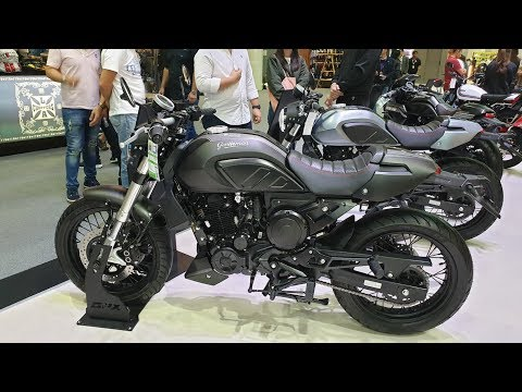 GPX Legend Gentleman 200 | Walkaround at Motor Expo 2019, Thailand