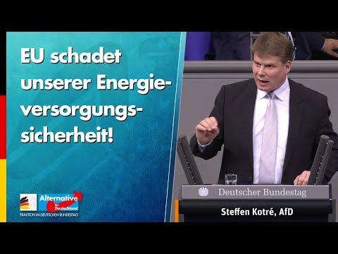 EU schadet unserer Energieversorgungssicherheit! - Steffen Kotré - AfD-Fraktion