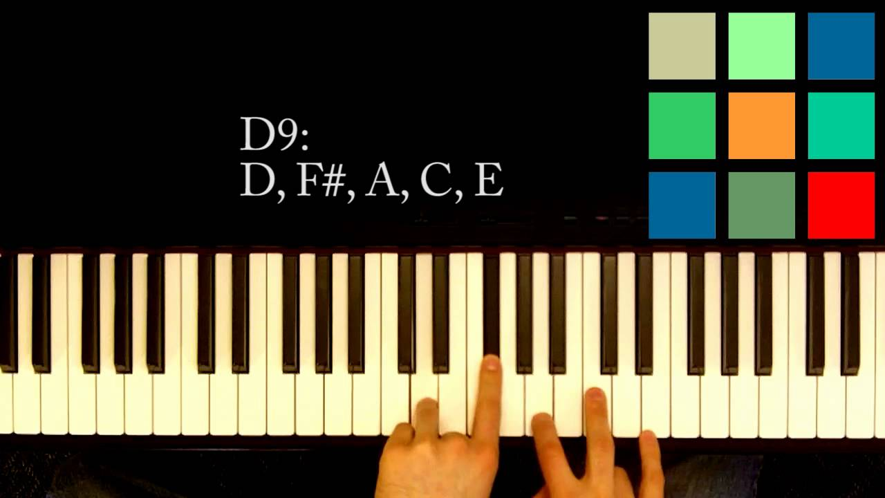How to play a d9 chord on the piano youtube how to play a d9 chord on the piano hexwebz Gallery