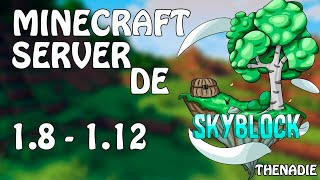 [NEW] Minecraft Astaley Review | Server de Skyblock no premium 1.8 - 1.12 | Se Busca Staff [FREE]