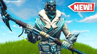 "The New ""SNOWFOOT"" Skin Gameplay in Fortnite.."