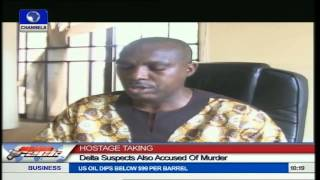 DSS Parades Kidnap Suspects In Delta