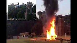 Brazil wedding helicopter crash| CCTV English