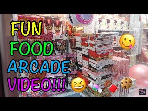 FUN FOOD ARCADE VIDEO!!!