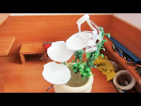 Поделка фонтан своими руками в домашних условиях