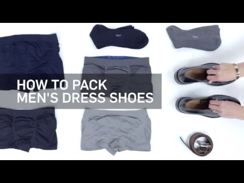 The Best Way to Pack a Pair of Dress Shoes In Your Luggage