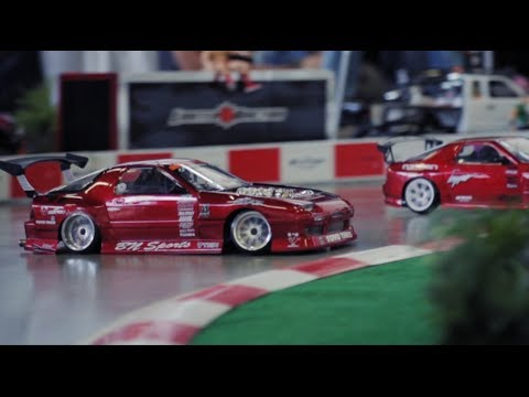 RC Drift Cars in Action
