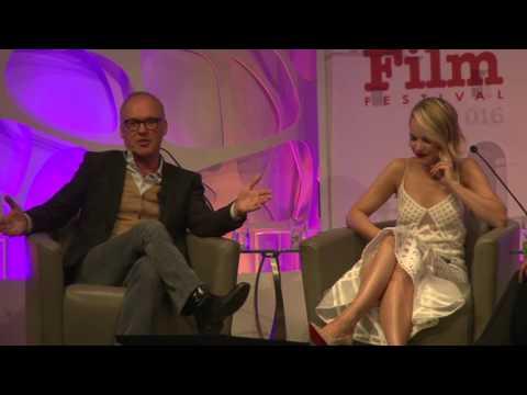 SBIFF 2016 - American Riviera - Michael Keaton Talks Rachel McAdams & MeanGirls