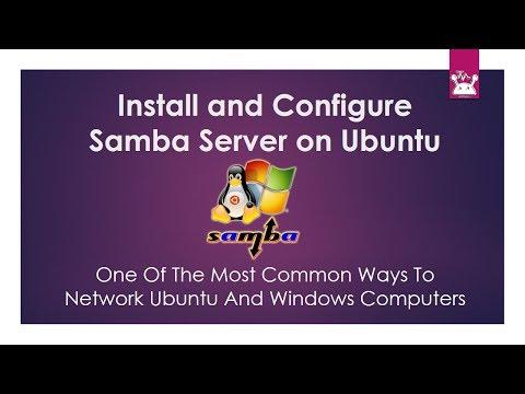 Configure Samba Server on Ubuntu