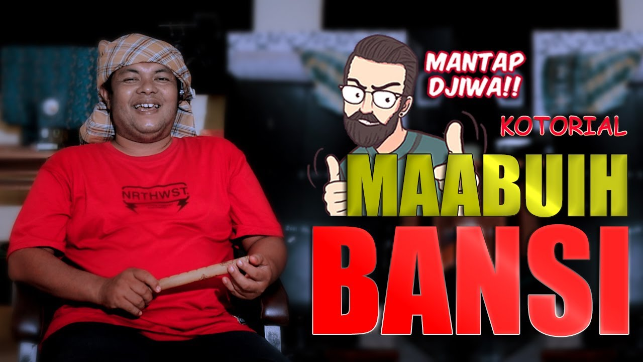 Lawak Minang - Mak iPin - KOTORIAL MA AMBUIH BANSI - (Official Music Video)