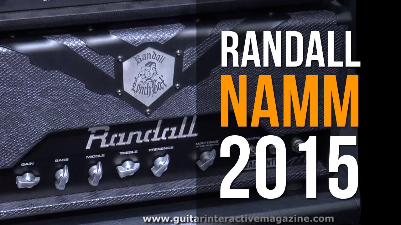 Randall Amplification | Trasher 50 Watt, Head Hunter & EOD 88 | NAMM 2015