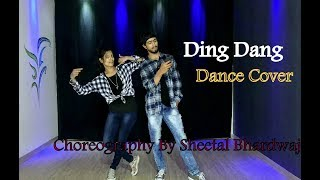 Ding Dang Ding Dang Dance Choreography Video Munna Michael | Dance Choreography by Sheetal Bhardwaj
