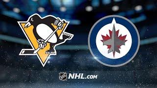 Wheeler, Jets roll past Penguins, 7-1