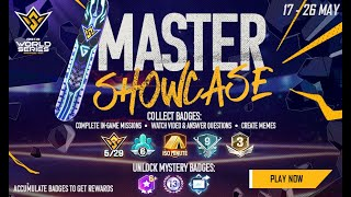 FFWS Master Showcase Event Tutorial   Free Fire World Series 2021 Singapore