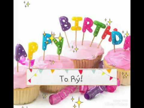 Happy Birthday To My Best Friend!!! (Rý)