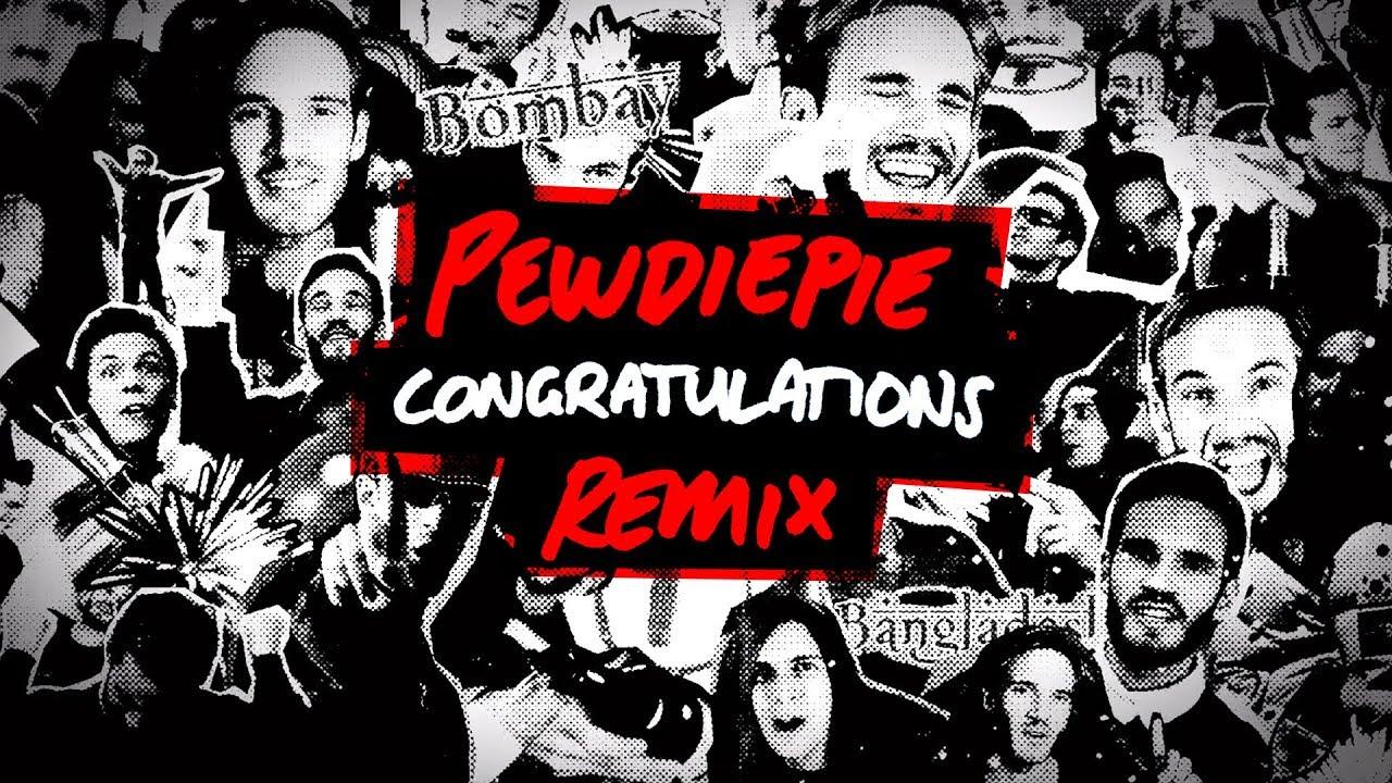 PewDiePie, Roomie & Boyinaband – Congratulations (Levi Niha