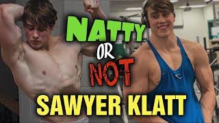 Sawyer Klatt...700lbs Deadlift at 18!!! 675lbs at 17!!! Natural or Not???