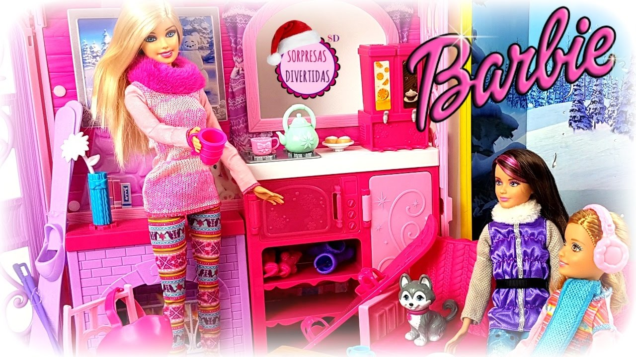 Juguetes Barbie Stacie Barbieskipper Muñecas Nieve De En La Y Lar34j5 Nnv0m8w