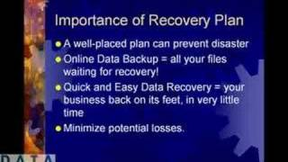 Disaster Recovery Plans Are Imperative