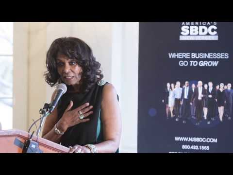 Brenda Hopper, Rutgers MBA '76, CEO & Director New Jersey Small Business Development Center