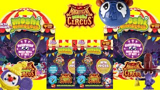 Moshi Monsters Magnificent Moshi Circus Blind Bags & 5 Packs Unboxing Toy Review, Vivid Toys