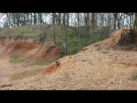 greatest rc location in the world  xtc brushless monster-truck ramp jump fail
