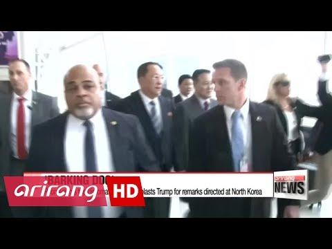 North Korea's foreign minister calls Trump a 'barking dog'
