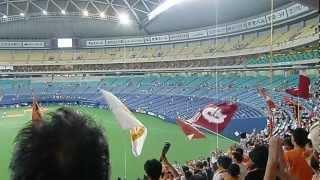 2012.8.14 中日×巨人 ナゴヤドーム 二次会での高橋由伸応援歌です。