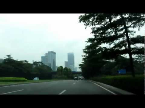 Drive from City Center, Shenzhen, China