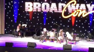 Sara sings She Used to Be Mine at BroadwayCon