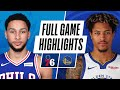 76ERS at WARRIORS | FULL GAME HIGHLIGHTS | March 23, 2021