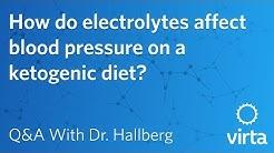 Dr. Sarah Hallberg: How do electrolytes affect blood pressure on a ketogenic diet?