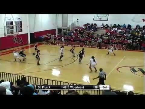 Girls Varsity Basketball- Woodward Academy vs St. Pius X