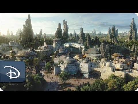 Jean Marie - Sneak Peak Look Into Disney's Star Wars: Galaxy's Edge Theme Park