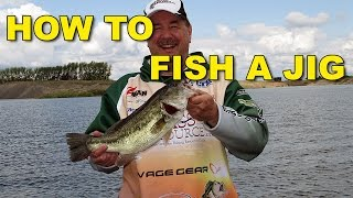 How To Fish A Jig for Bass - The Total Jig Fishing Tutorial | Bass Fishing