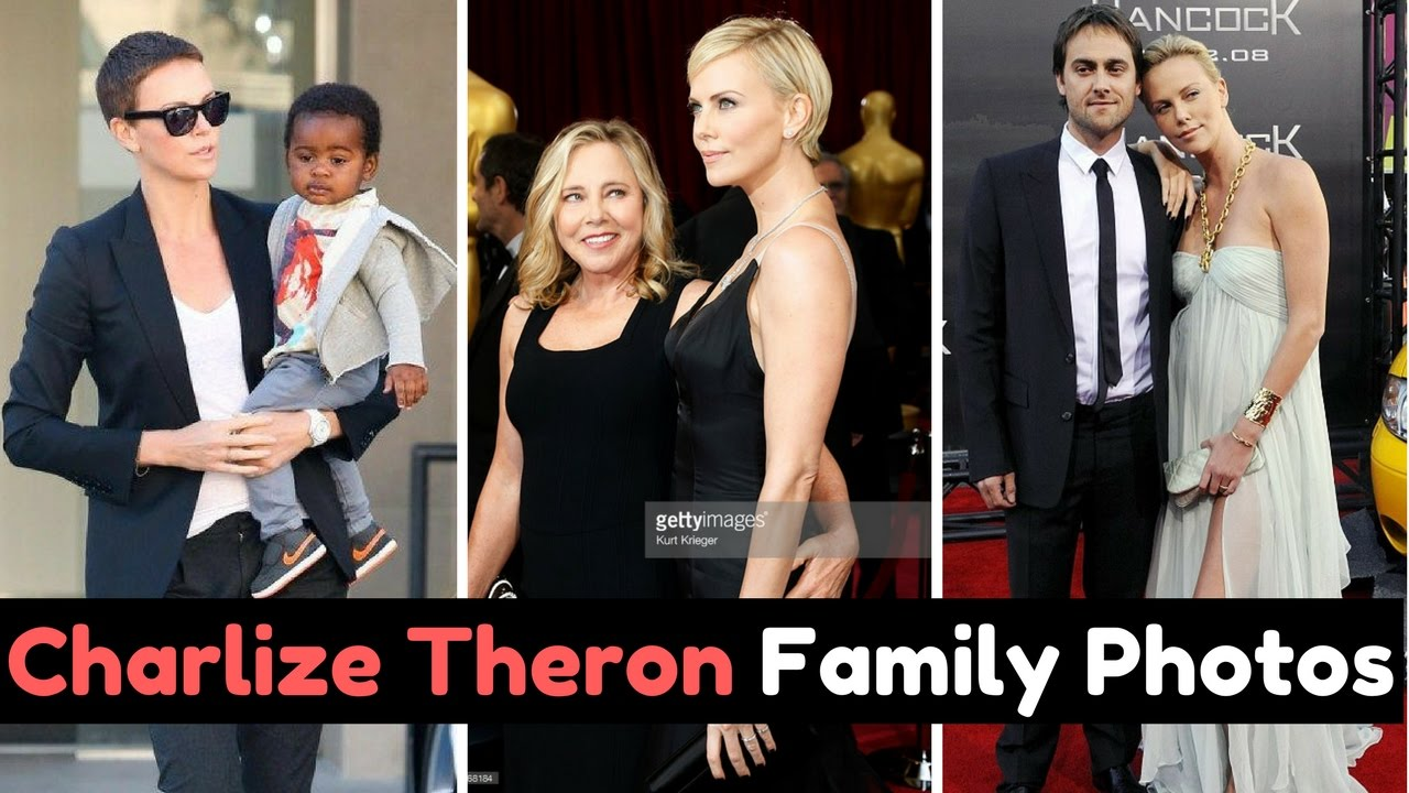 Actress Charlize Theron Family Photos With Partner Sean